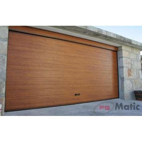 Puerta garaje imitacion madera for Puertas imitacion madera exterior